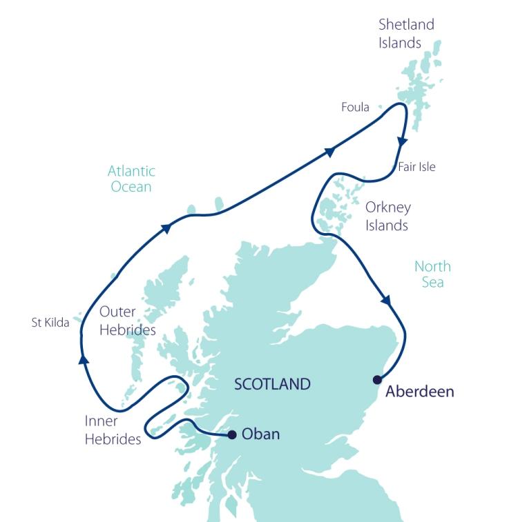 Aurora Wild Scotland Map