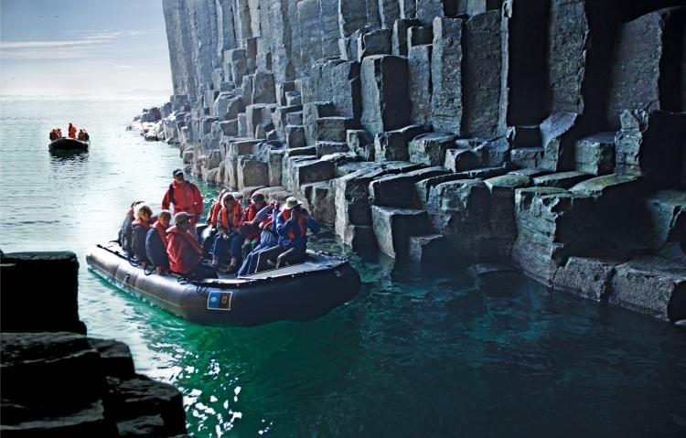 Lindblad Fingals Cave