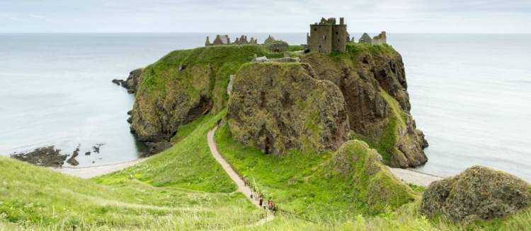 Duntottar Castle with Aurora Expeditions