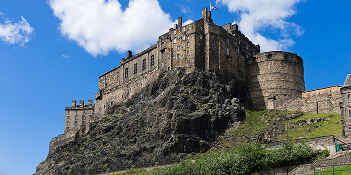 Edinburgh Castle with Viking Ocean Cruises