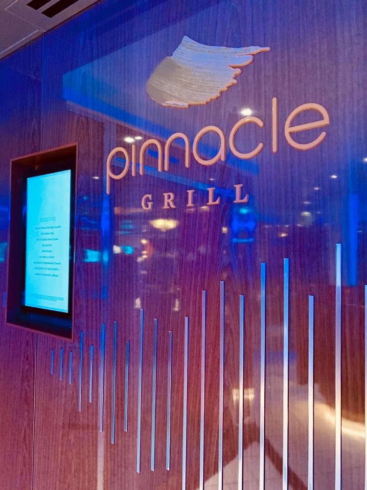 Nieuw Statendam Pinnacle Grill